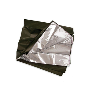 Emergency blanket tool blanket uses army green can be used to military field