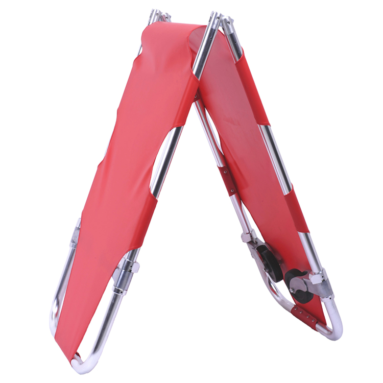 Collapsible camping emergency portable aluminum/Steel folding stretcher