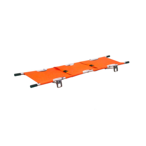 Capacity 200kg high quality aluminum belt 4 foldable folding stretcher