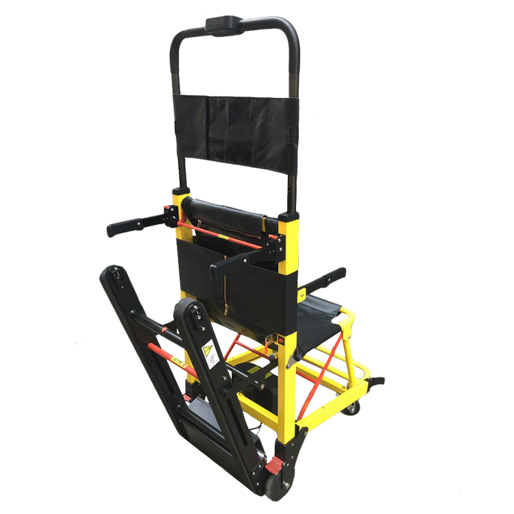 Portable electric powered stair climber wheelchair