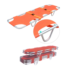Used ambulance transfer aluminum board stretcher for patient