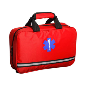 Professional empty portable emergency hospital workplace home first aid kit