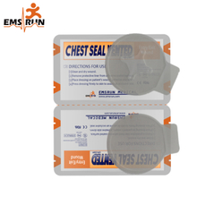 Military Tactical Emergency Chest Seal Vented