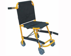 Foldable Wheel Stair Stretcher For Lift Evacuation With Wheels